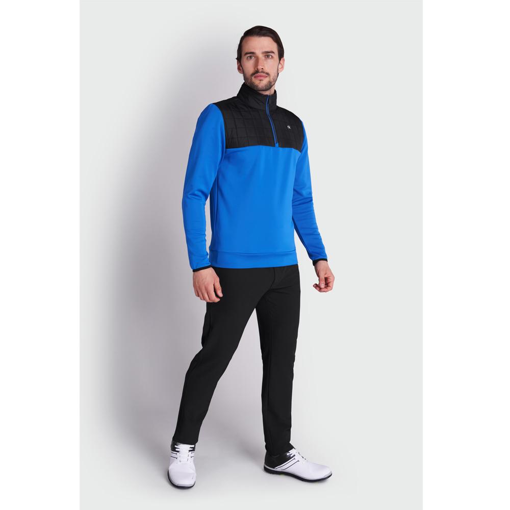 Calvin Klein Golf Vardon Hybrid Half Zip Golf Pullover