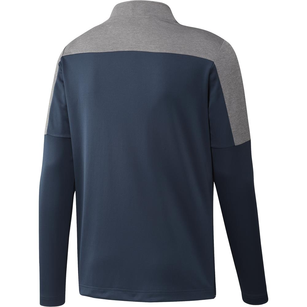 adidas Golf UPF Lightweight 1/4 Zip Pullover  - Crew Navy