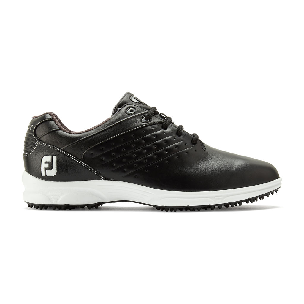 FootJoy Arc SL Spikeless Leather Mens Golf Shoes  - Black