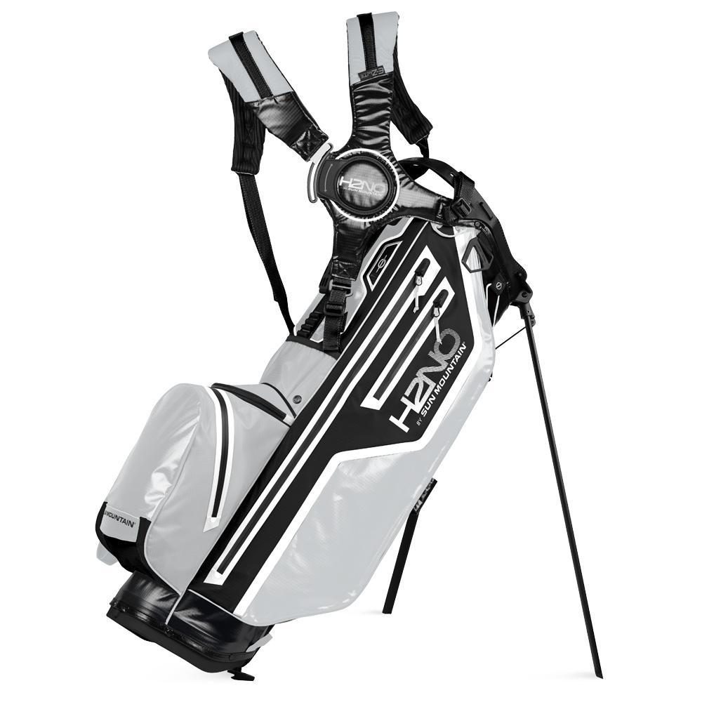 Sun Mountain H2NO Lite Stand Waterproof Golf Bag  - Black/Cadet/White