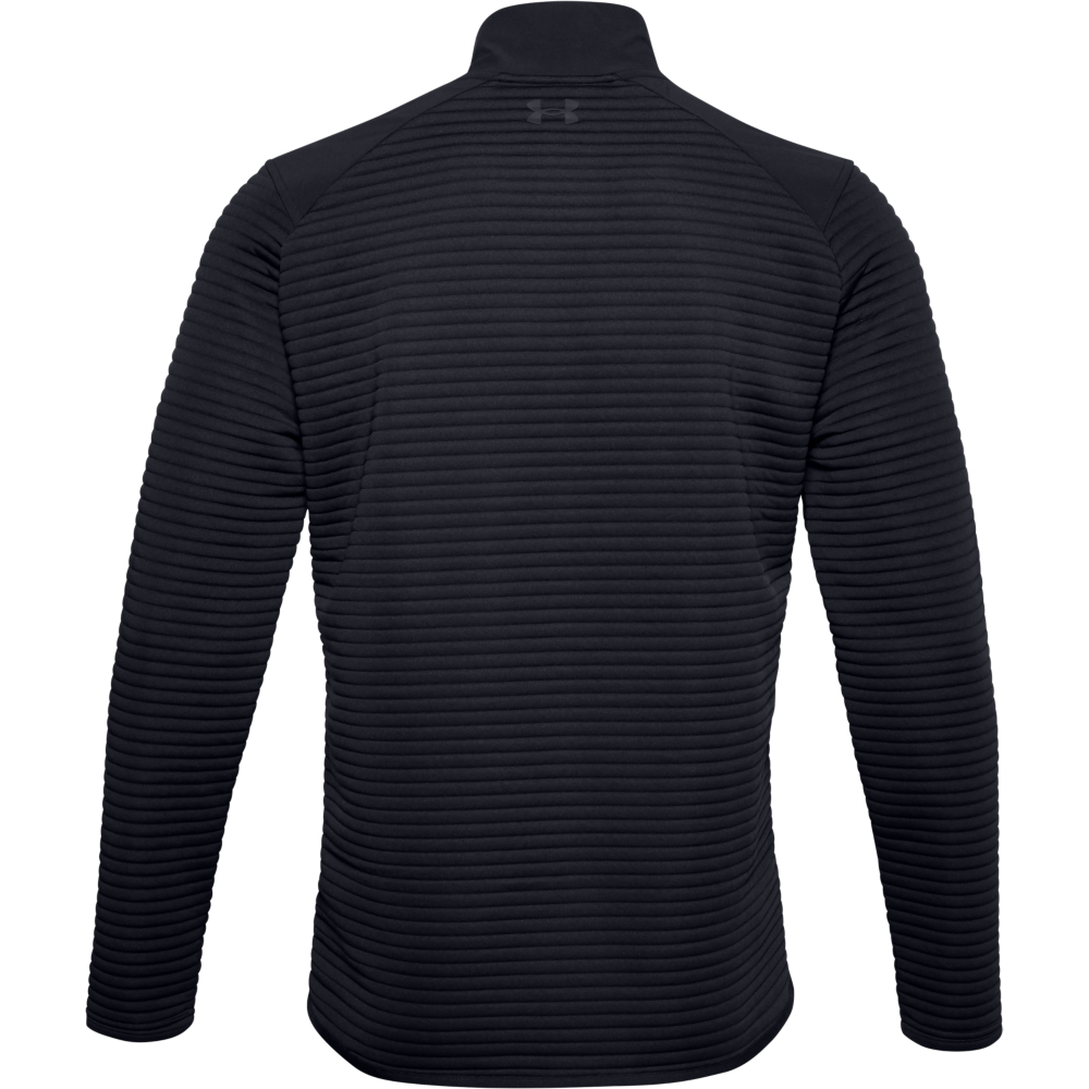 Under Armour Mens UA Storm Evolution Daytona 1/2 Zip Golf Sweater  - Black