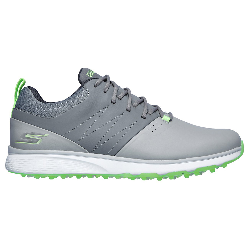 Skechers Go Golf Mojo Punch Shot Spikeless Mens Golf Shoes  - Grey/Lime