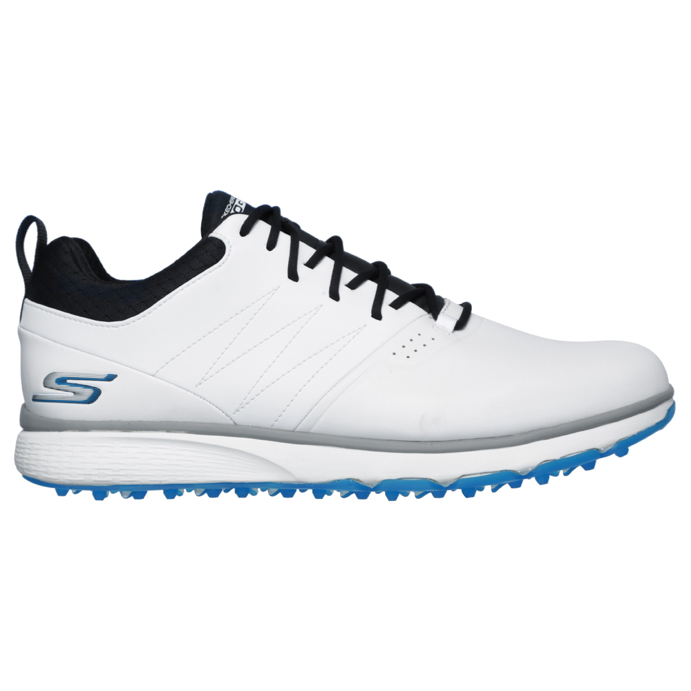 Skechers Go Golf Mojo Punch Shot Spikeless Mens Golf Shoes  - White/Blue
