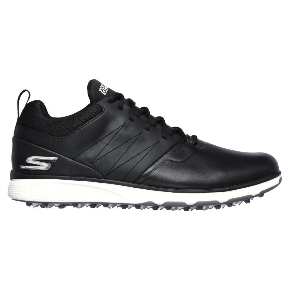 Skechers Go Golf Mojo Punch Shot Spikeless Mens Golf Shoes  - Black/Silver