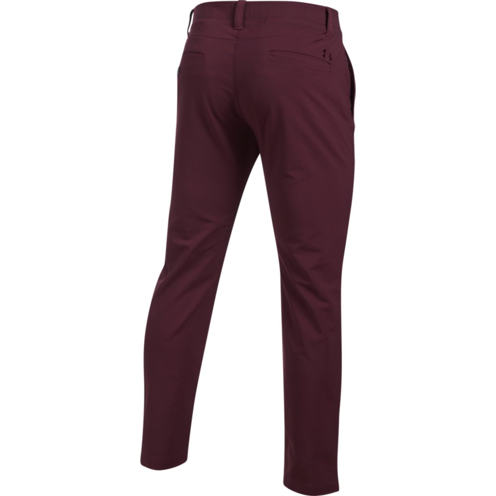 miniatuur 19 - UNDER ARMOUR MENS MATCHPLAY TAPERED LEG GOLF PERFORMANCE TROUSERS (1253492)