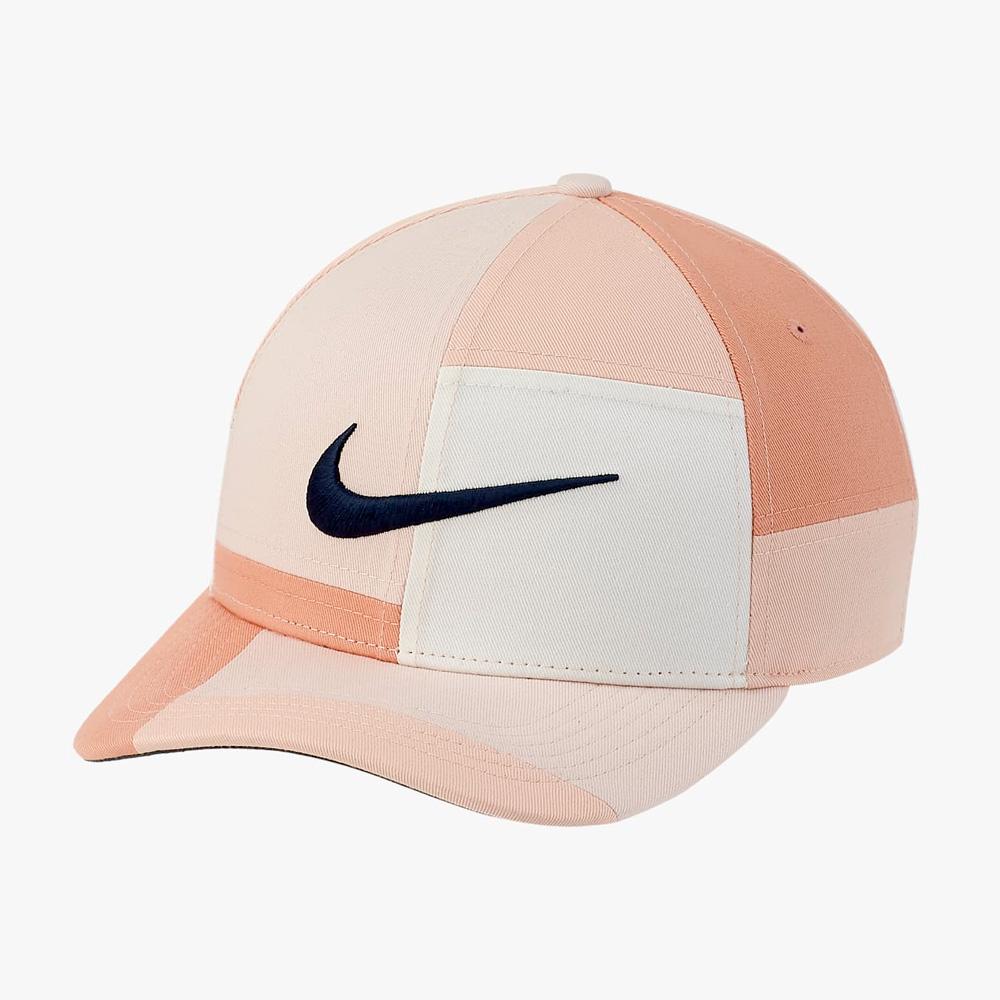 Nike Golf Aerobill Classic 99 Colour Block Cap  - Arctic Orange