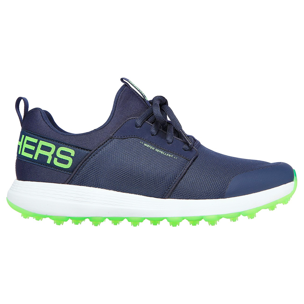 Skechers Mens GO GOLF MAX-SPORT Golf Shoes  - Navy/Lime