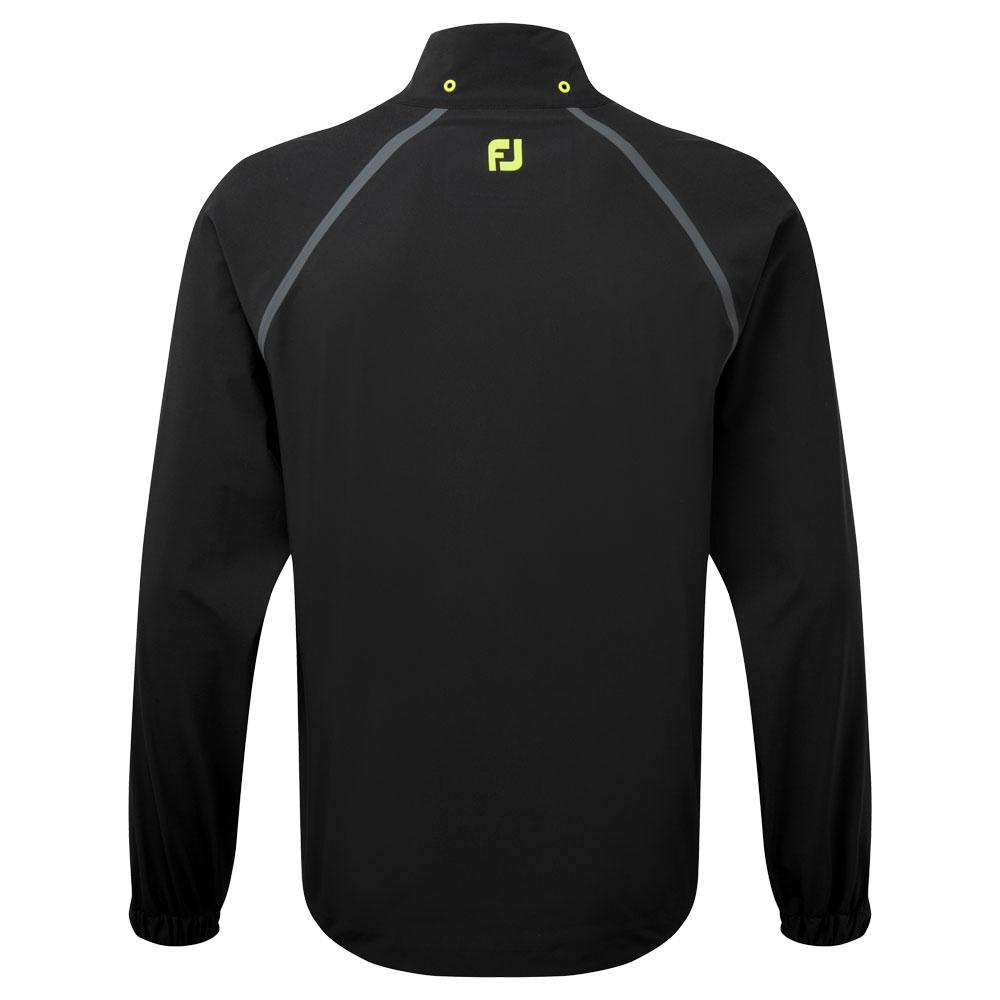 FootJoy Golf HydroTour Waterproof Jacket  - Black/Charcoal/Lime