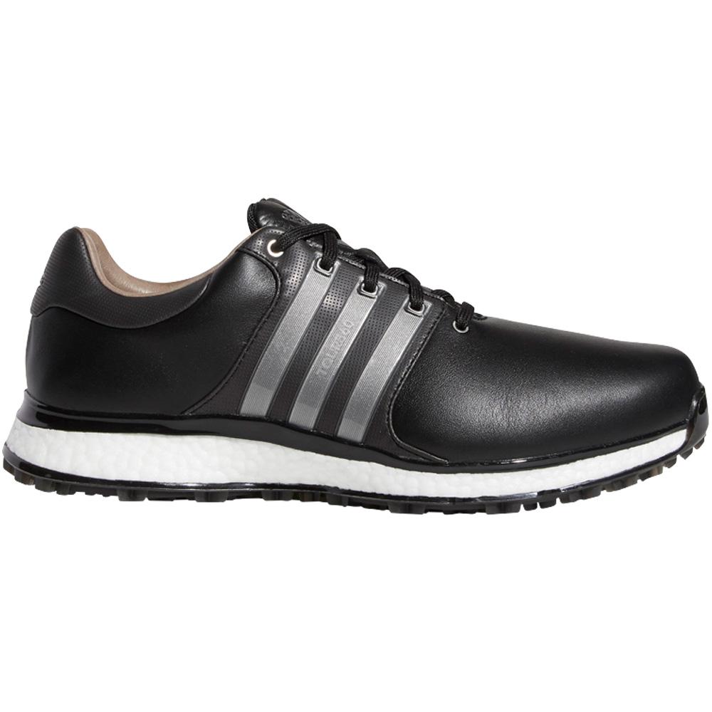 adidas Tour 360 XT-SL Waterproof Spikeless Mens Golf Shoes - Wide Fit  - Core Black/Iron Metallic