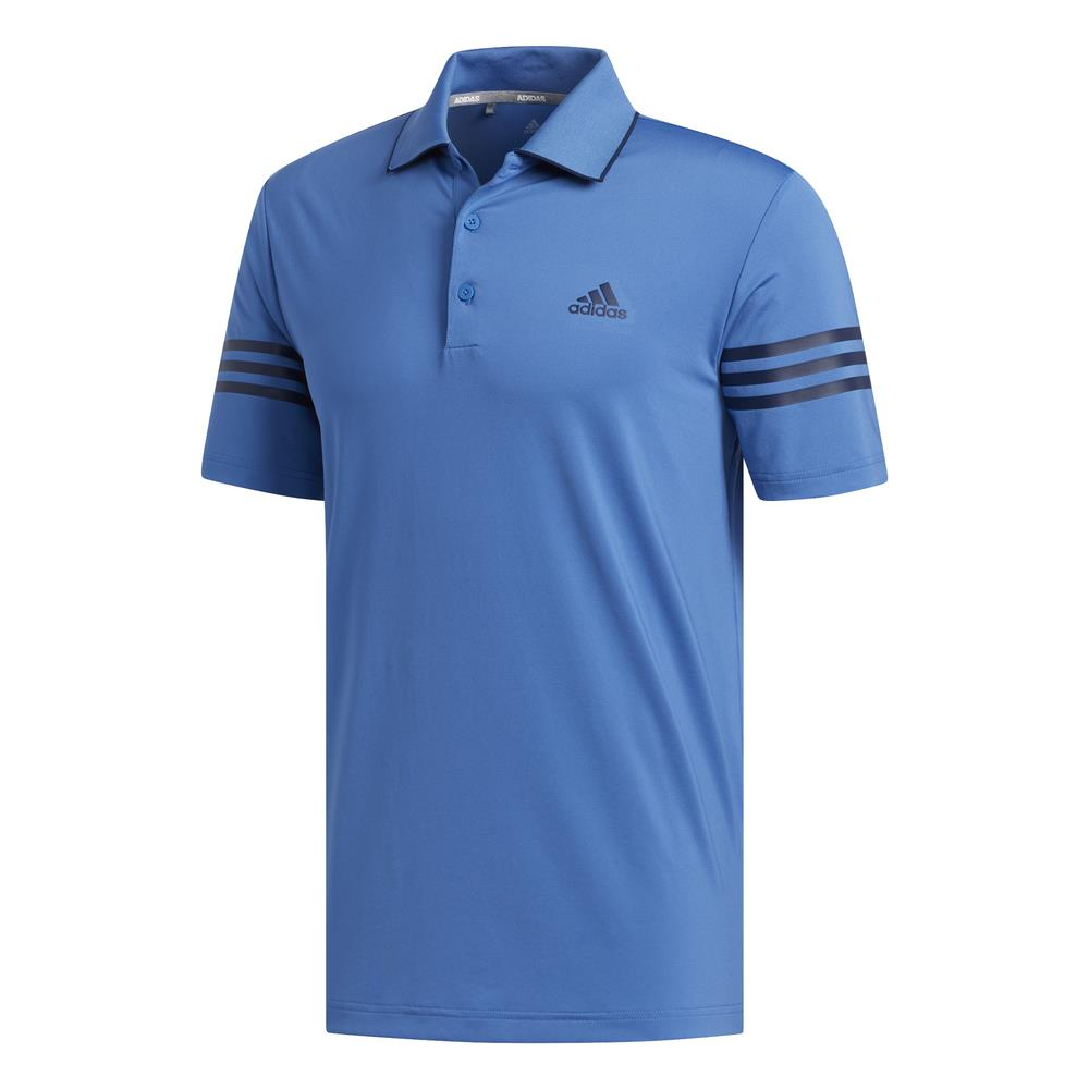 adidas Golf Ultimate365 Blocked Mens Polo Shirt  - Trace Royal/Collegiate Navy