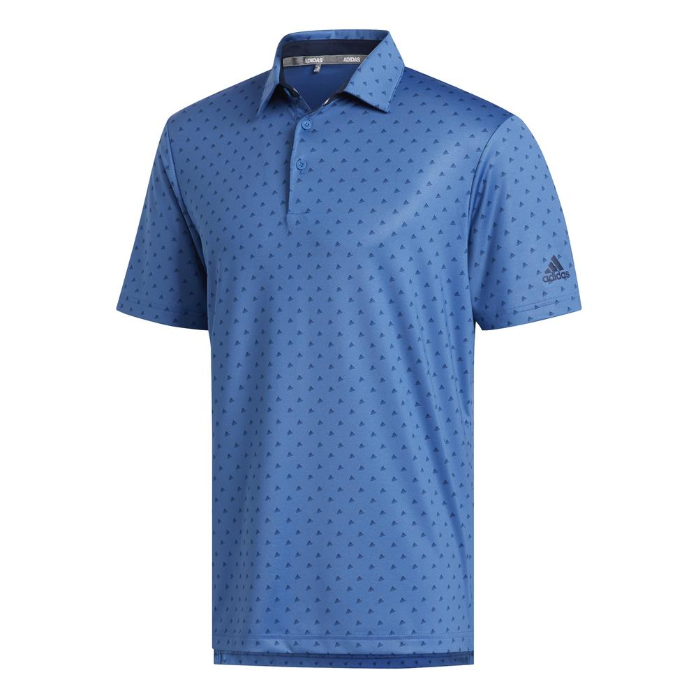 adidas Golf Ultimate365 Badge of Sport Mens Polo Shirt  - Trace Royal/Collegiate Navy