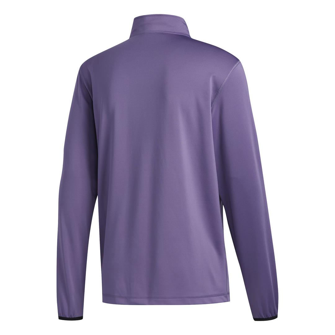 adidas Golf 3-Stripes Mens Midlayer  - Tech Purple/Grey Two