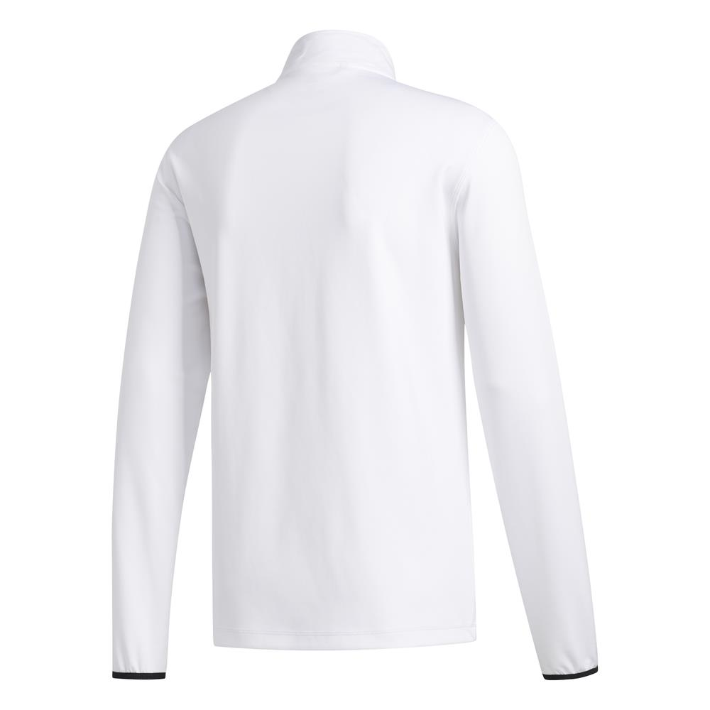 adidas Golf 3-Stripes Mens Midlayer  - White/Black