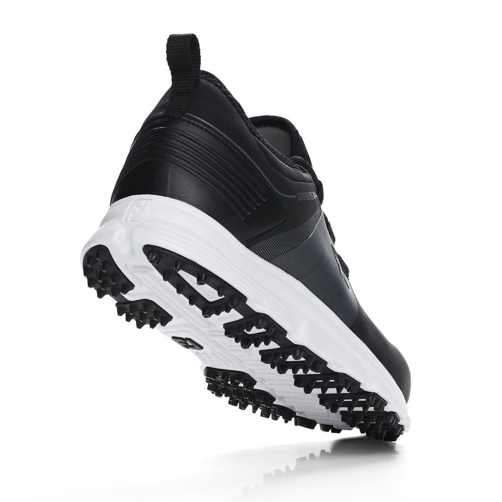 FootJoy Superlites XP Waterproof Spikeless Mens Golf Shoes  - Black