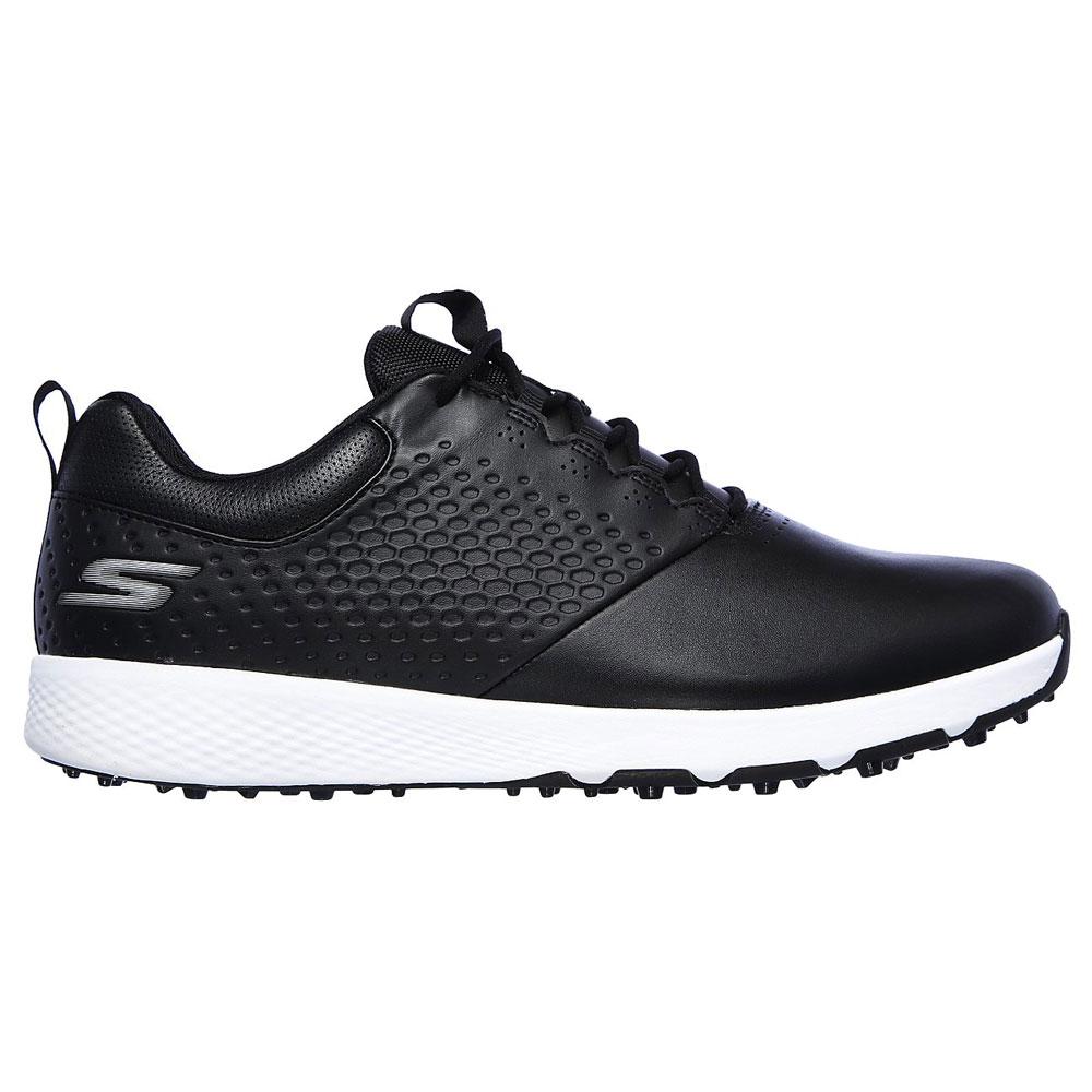 Skechers Go Golf Elite V.4 Mens Spikeless Golf Shoes  - Black/White
