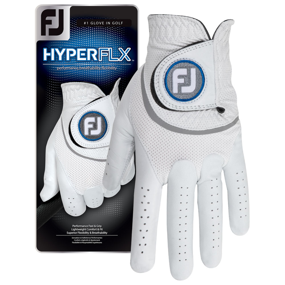 FootJoy Mens HyperFLX Golf Glove Left Hand