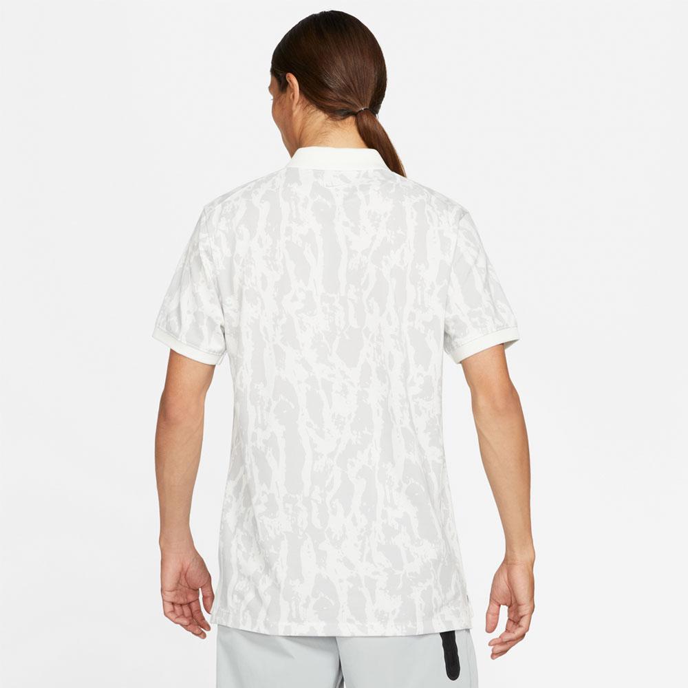 The Nike Polo Mens Golf Shirt  - Summit White
