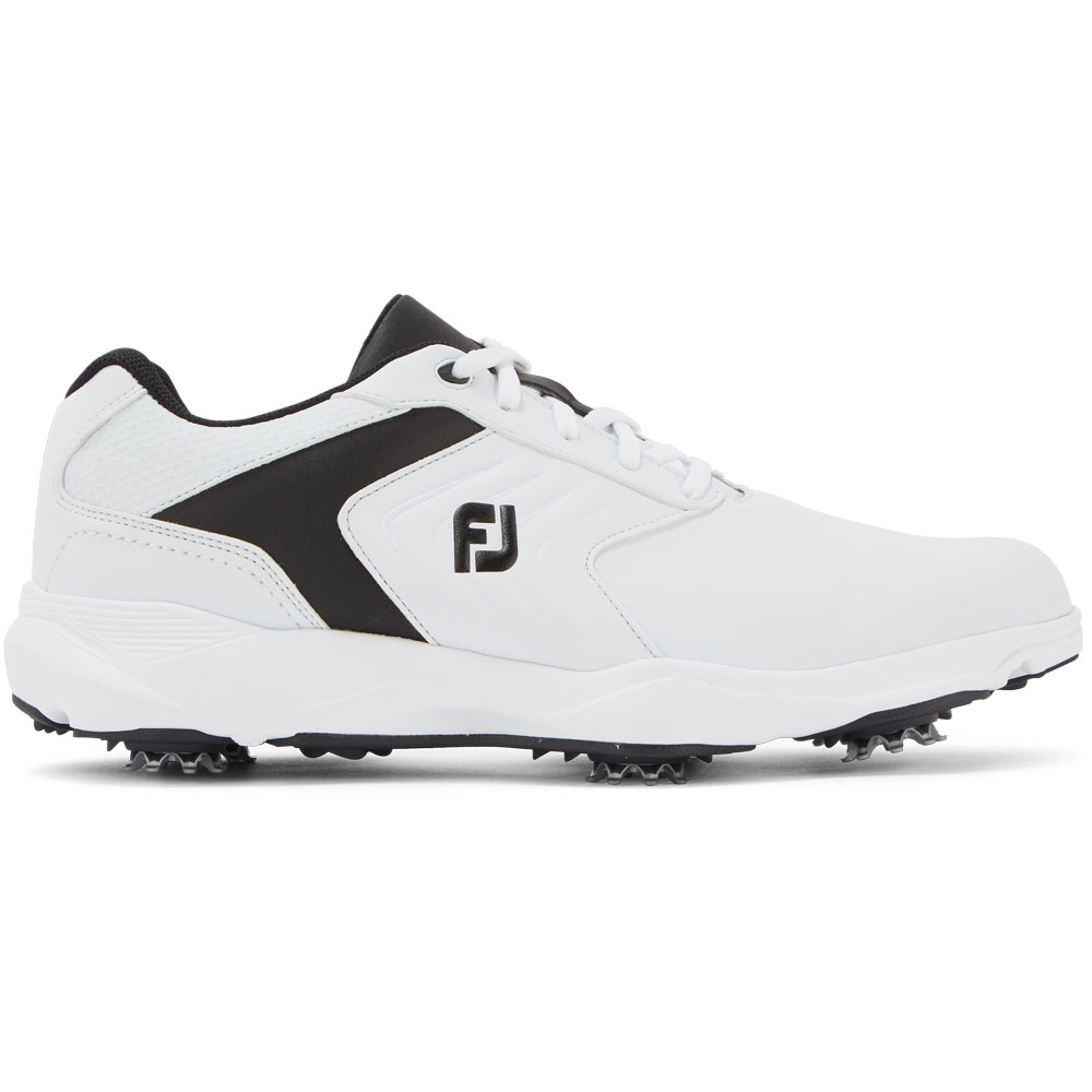 FootJoy eComfort Mens Golf Shoes  - White/Black