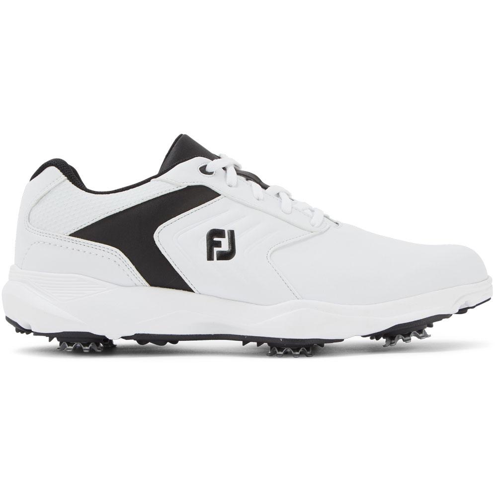 FootJoy eComfort Mens Golf Shoes  - White/Black