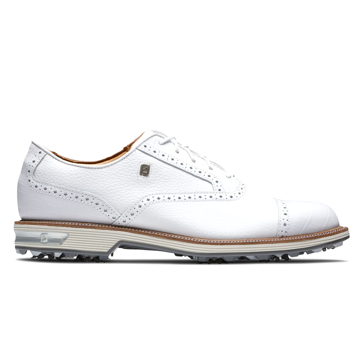 FootJoy DryJoys Premiere Series Tarlow Mens Golf Shoes  - White