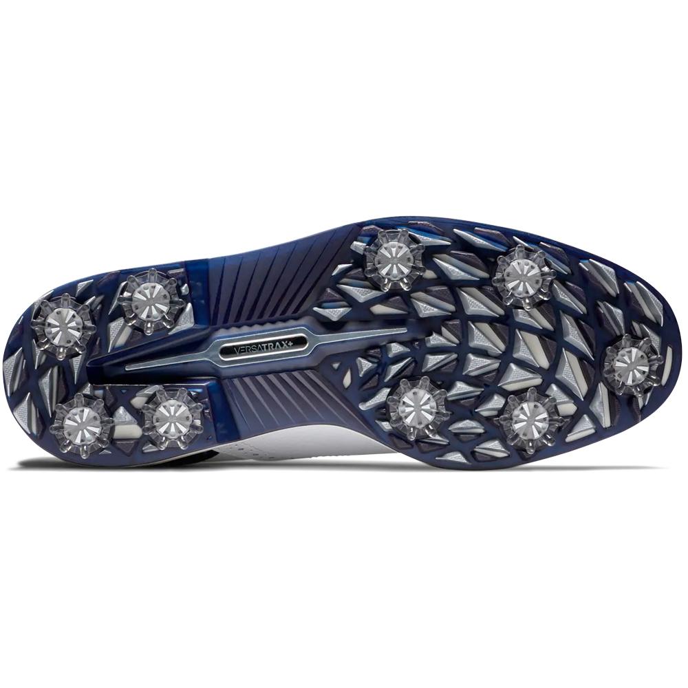 FootJoy DryJoys Premiere Series Tarlow Mens Golf Shoes  - White/Blue