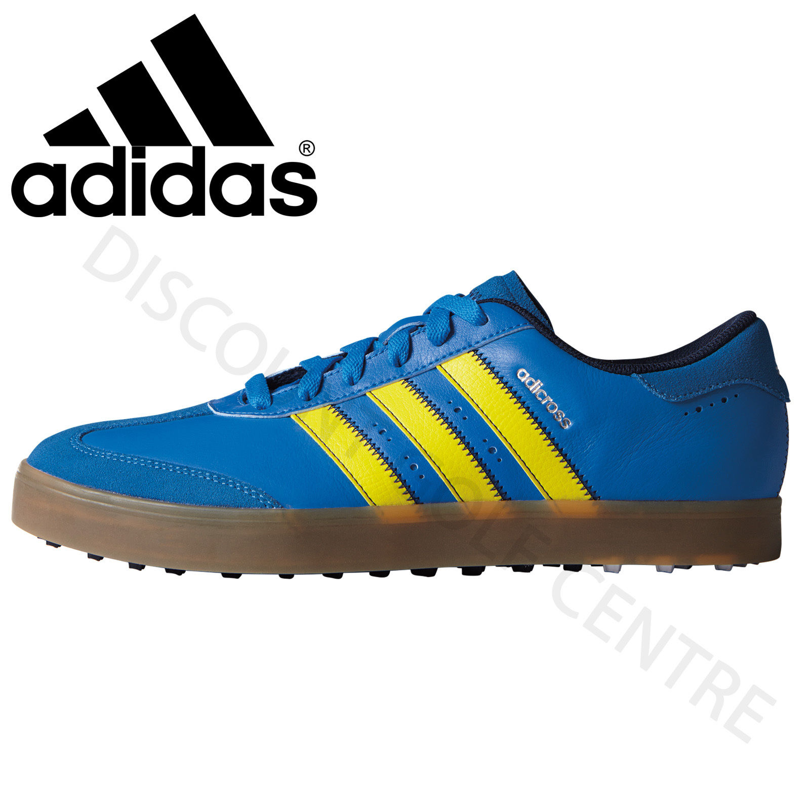 Adidas  Adicross V Spikeless Mens Golf Shoes Wide Fitting