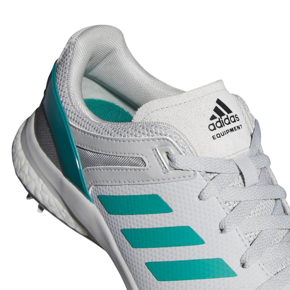 adidas EQT Mens Spiked Golf Shoes (Grey/Sub Green)