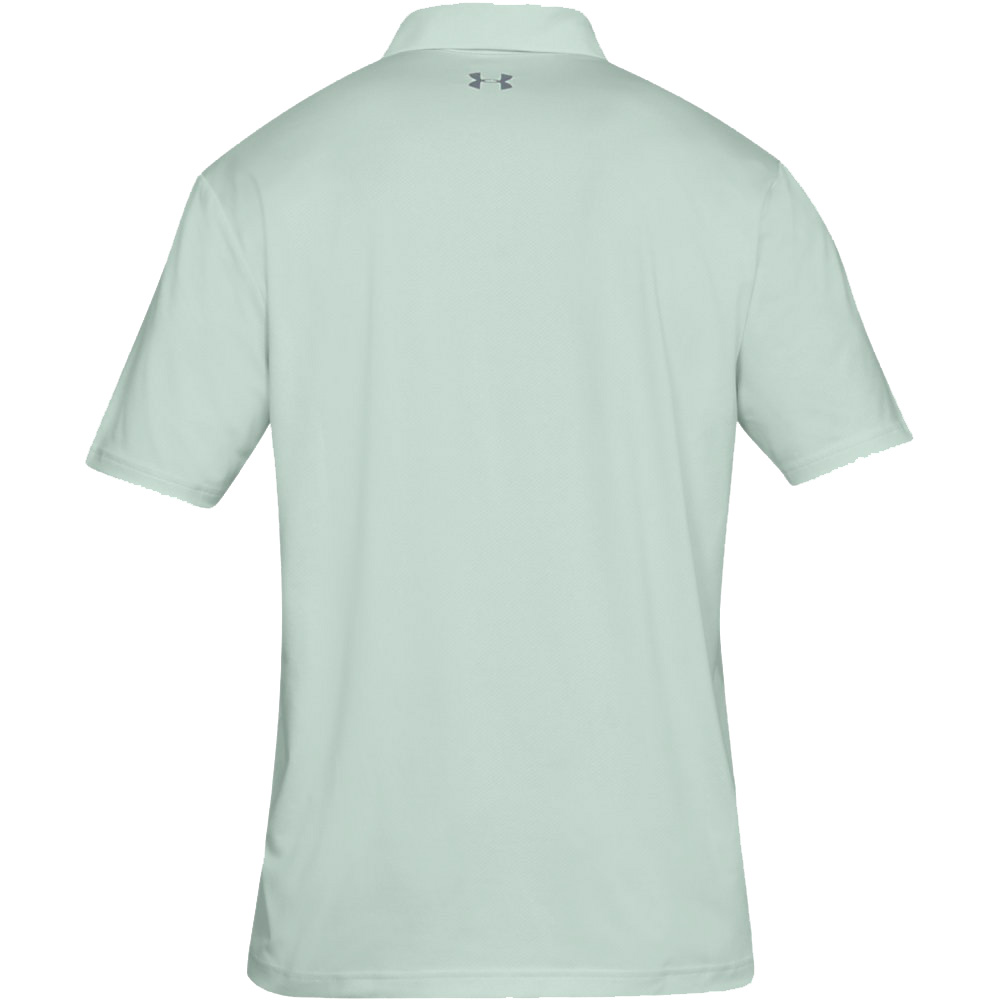 Under Armour Performance 2.0 Mens Golf Polo Shirt  - Carolina Blue