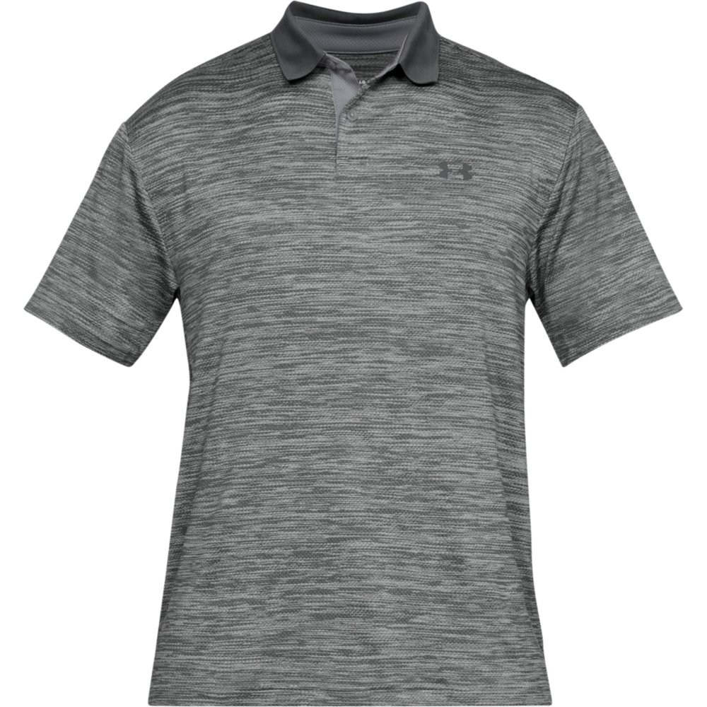 Under Armour Performance 2.0 Mens Golf Polo Shirt  - Steel