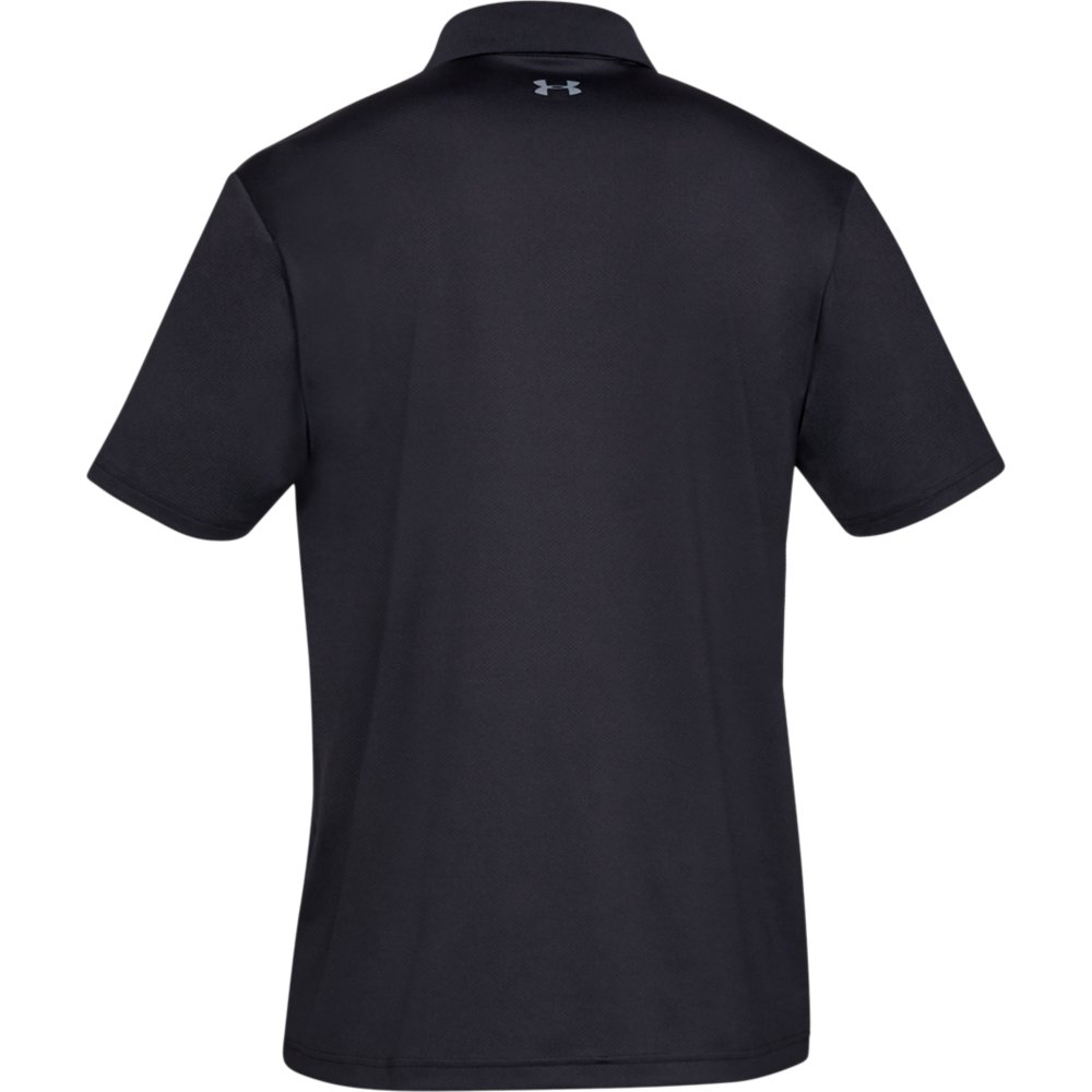 Under Armour Performance 2.0 Mens Golf Polo Shirt  - Black