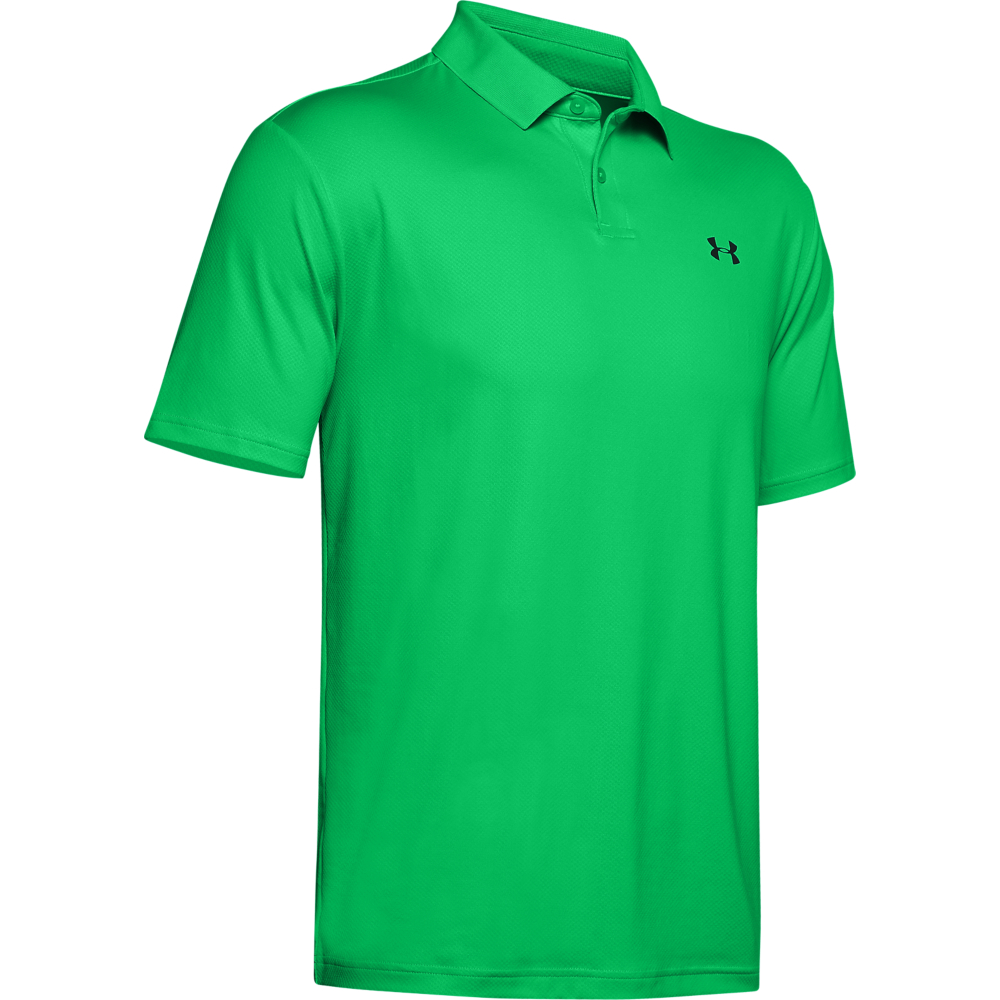 Under Armour Performance 2.0 Mens Golf Polo Shirt  - Vapour Green