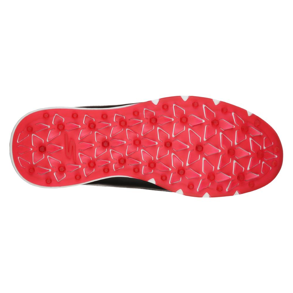 Skechers Go Golf Mojo Elite Mens Spikeless Golf Shoes  - Black/Red