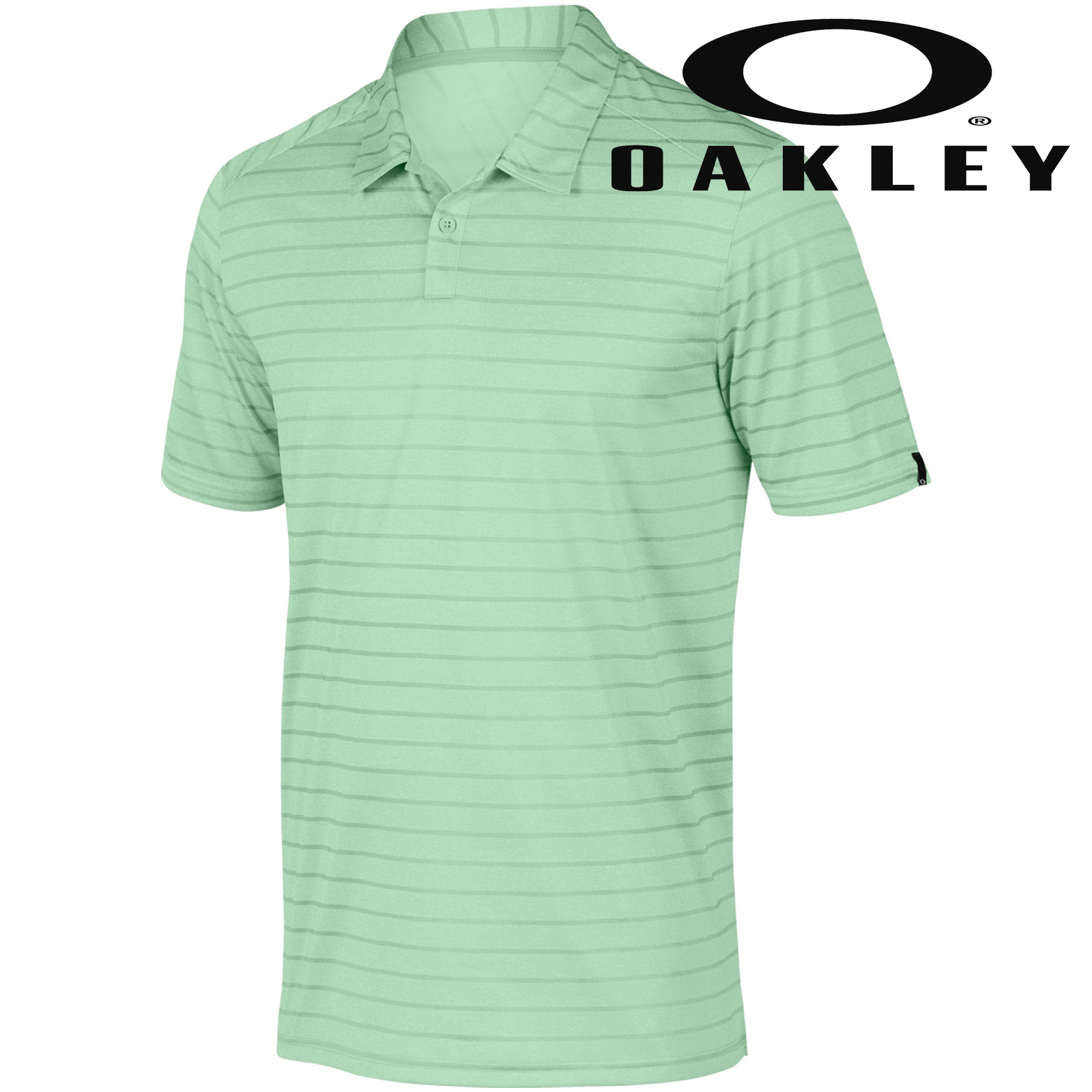 1ef951a1cb Oakley 2017 Mens Top Stripe Performance Golf Polo Shirt