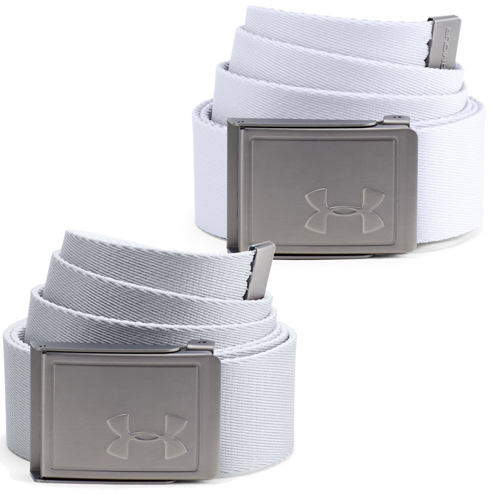 Under Armour Golf Reversible Webbing 2.0 Mens Belt  - White