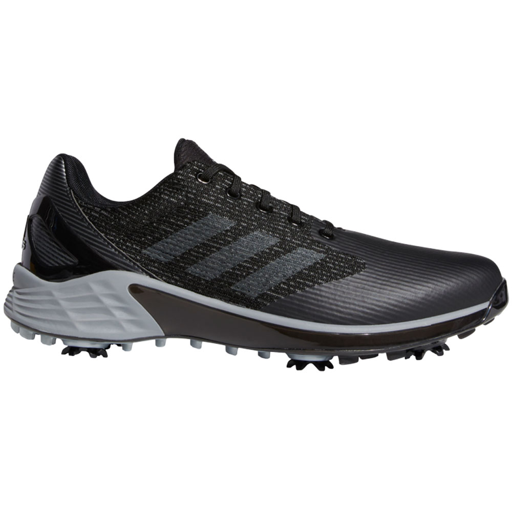 adidas ZG21 Motion Mens Recycled Polyester Golf Shoes  - Core Black/Grey Two/Grey Three