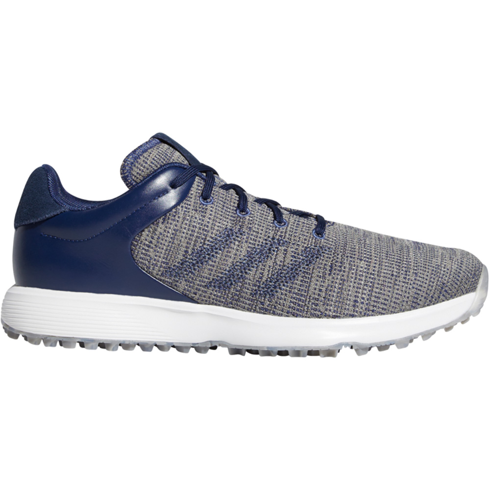 adidas S2G Mens Waterproof Spikeless Golf Shoes  - Tech Indigo/Collegiate Navy/Grey