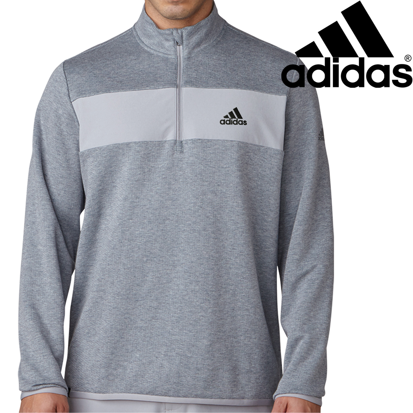 adidas quarter zip. adidas-golf-2018-mens-club-performance-1-4- adidas quarter zip