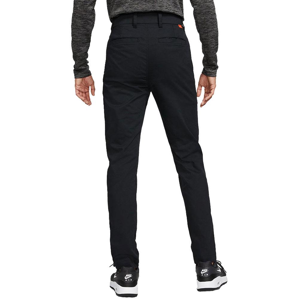 Nike Golf Dri-Fit UV Chino Pants Slim Trousers  - Black