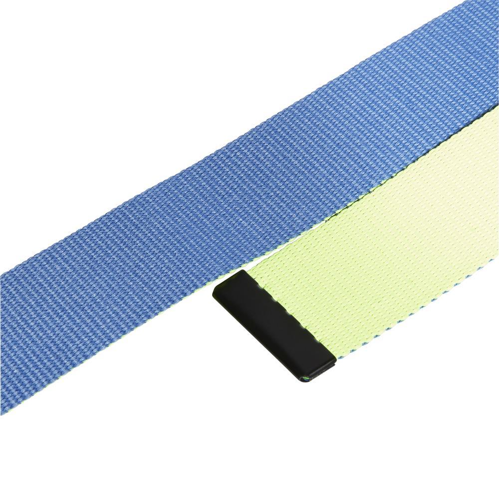 adidas Golf Mens Reversible Webbing Belt  - Trace Royal/Yellow