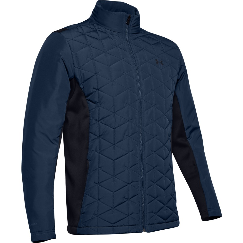 Under Armour Golf Mens ColdGear Reactor Hybrid Jacket  - Academy