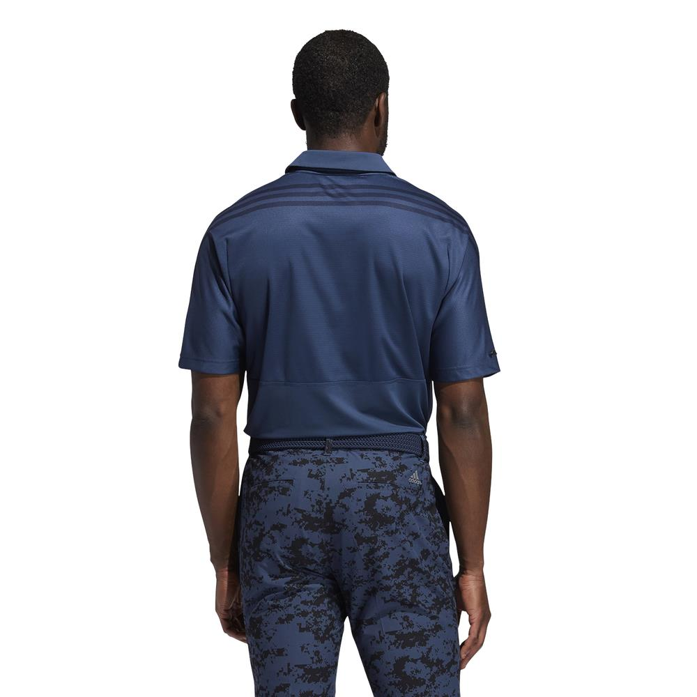 adidas Golf HEAT.RDY 3-Stripe Polo Shirt