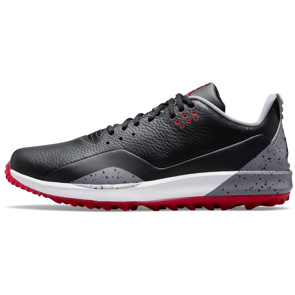 Nike Air Jordan ADG 3 Spikeless Golf Shoes  - Black/Cement Grey/Fire