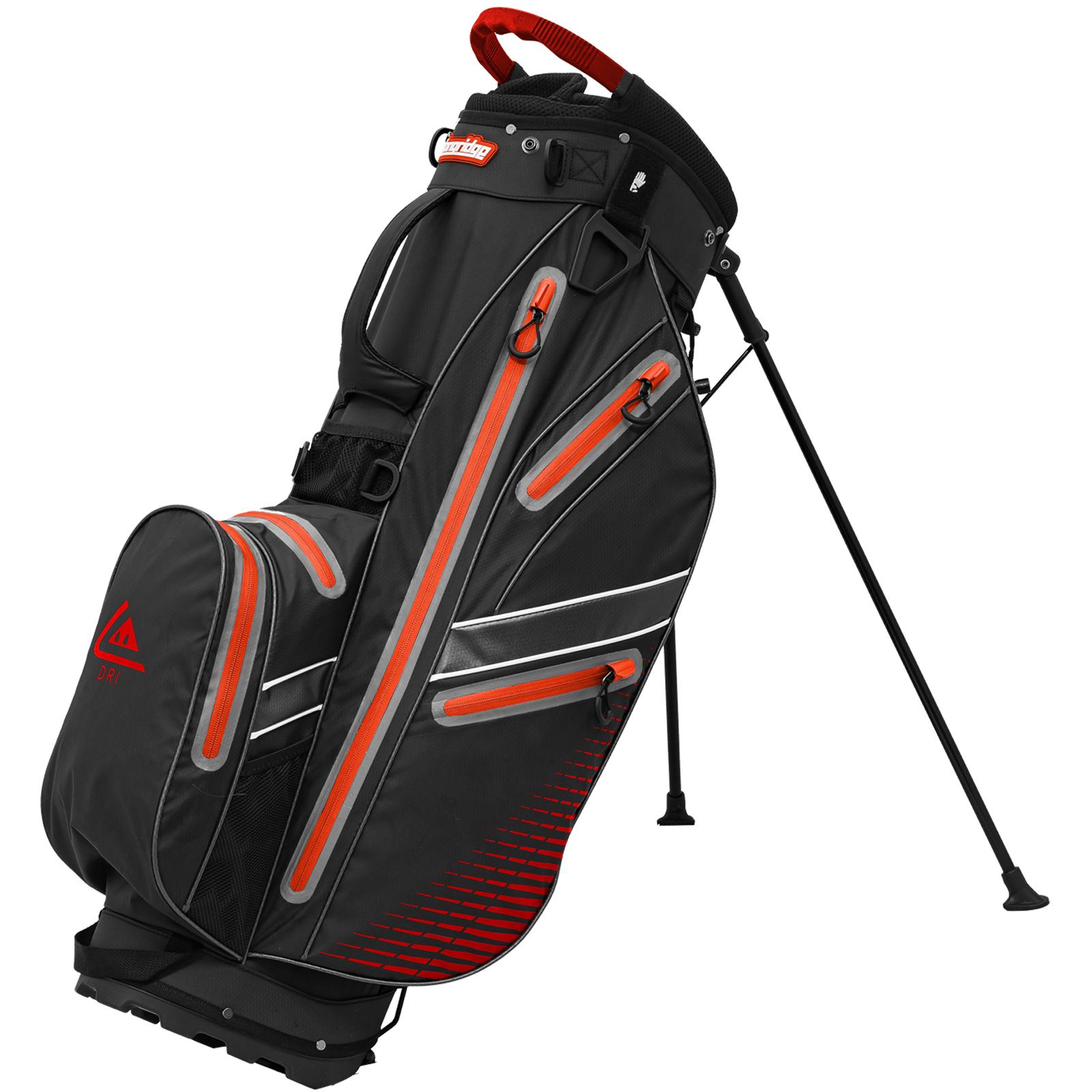 Longridge Aqua 2 Waterproof Golf Stand Bag  - Black
