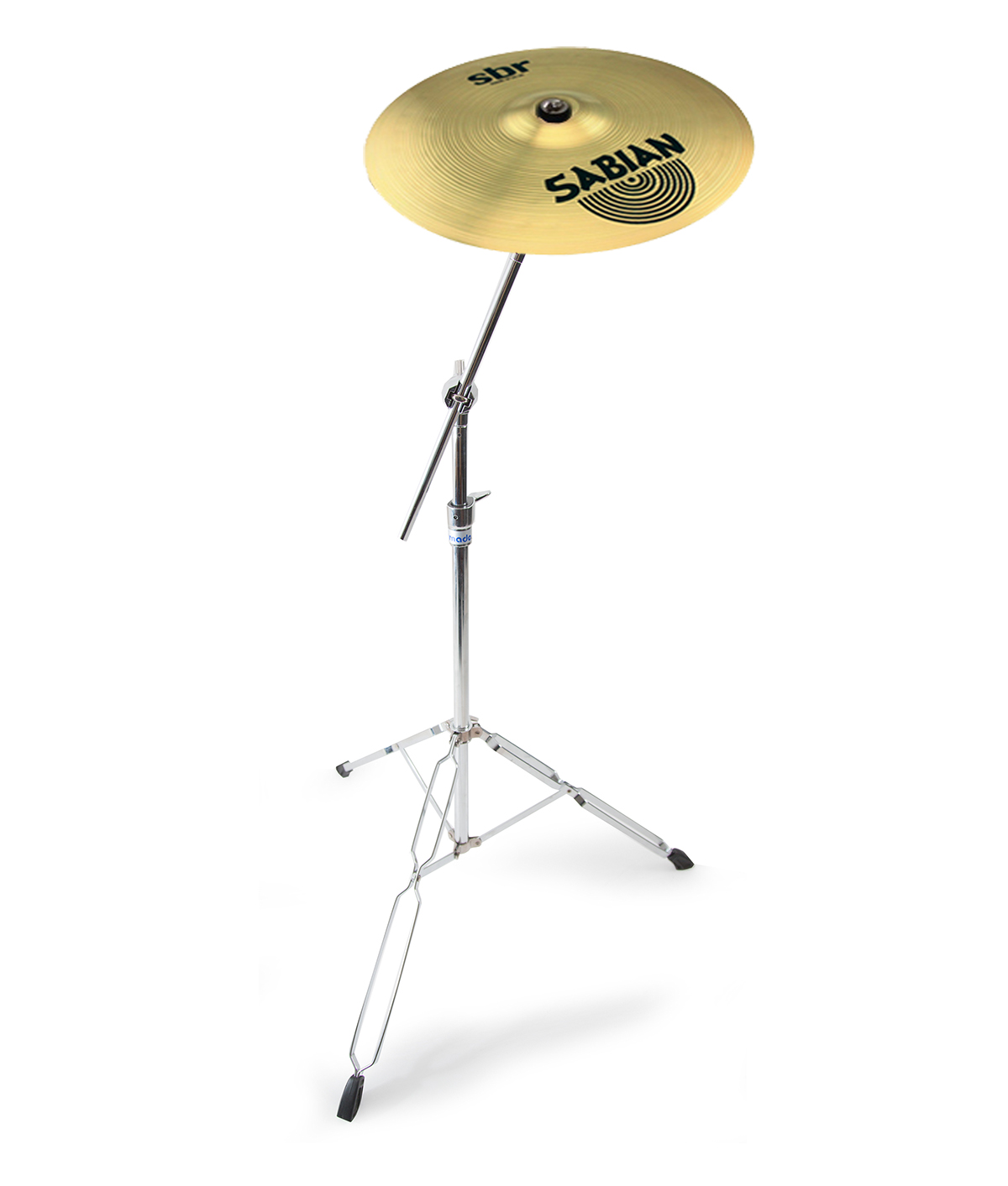 sabian 16 sbr crash cymbal mapex tornado cymbal stand 6869983431713 ebay. Black Bedroom Furniture Sets. Home Design Ideas