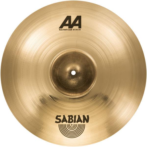 sabian aa raw bell cymbal set w free 18 crash 2500572b ebay. Black Bedroom Furniture Sets. Home Design Ideas