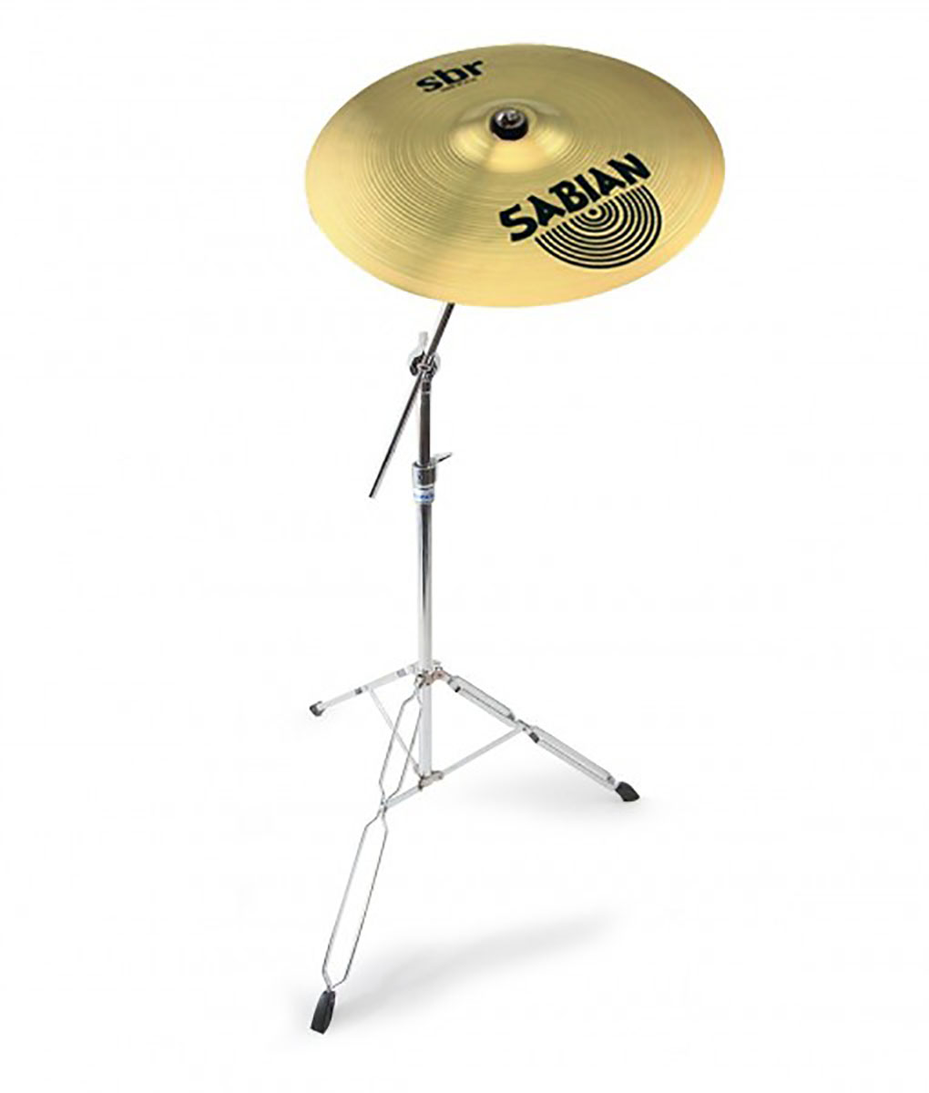 sabian 18 sbr crash ride cymbal with mapex tornado cymbal stand 6869983434363 ebay. Black Bedroom Furniture Sets. Home Design Ideas