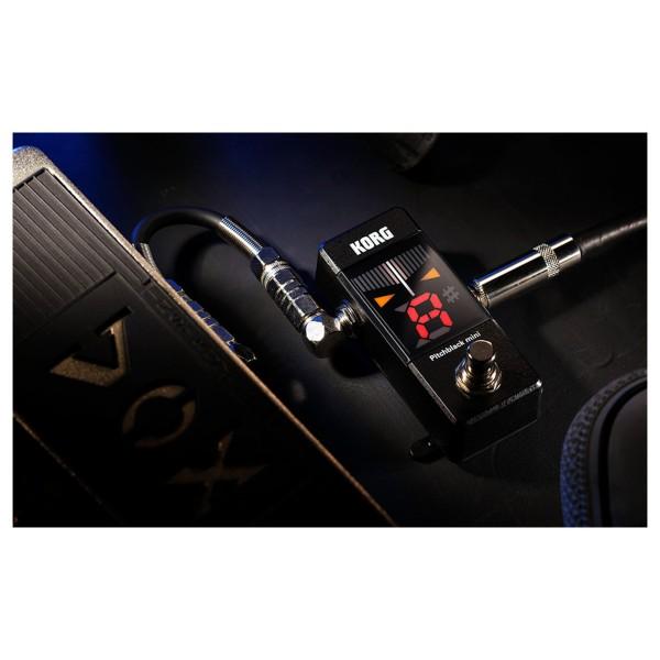 korg pitchblack mini guitar tuning pedal pb mini ebay. Black Bedroom Furniture Sets. Home Design Ideas