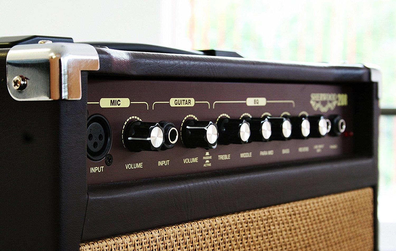 carlsbro sherwood 20 acoustic guitar vocal combo amplifier 5060262523674 ebay. Black Bedroom Furniture Sets. Home Design Ideas