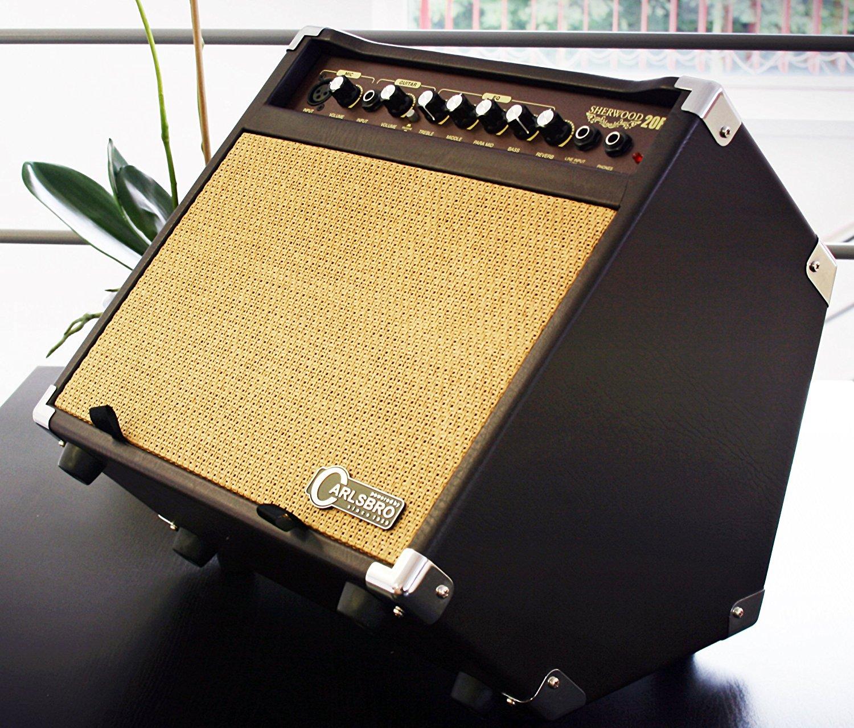 carlsbro sherwood 20 acoustic guitar vocal combo amplifier ebay. Black Bedroom Furniture Sets. Home Design Ideas