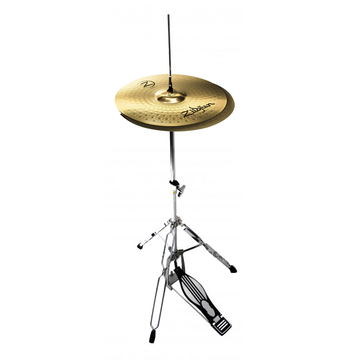 zildjian 14 planet z hi hat cymbals with mapex tornado stand 6869983429918 ebay. Black Bedroom Furniture Sets. Home Design Ideas